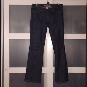GAP Straight Leg Jeans Dark Wash 4 ankle